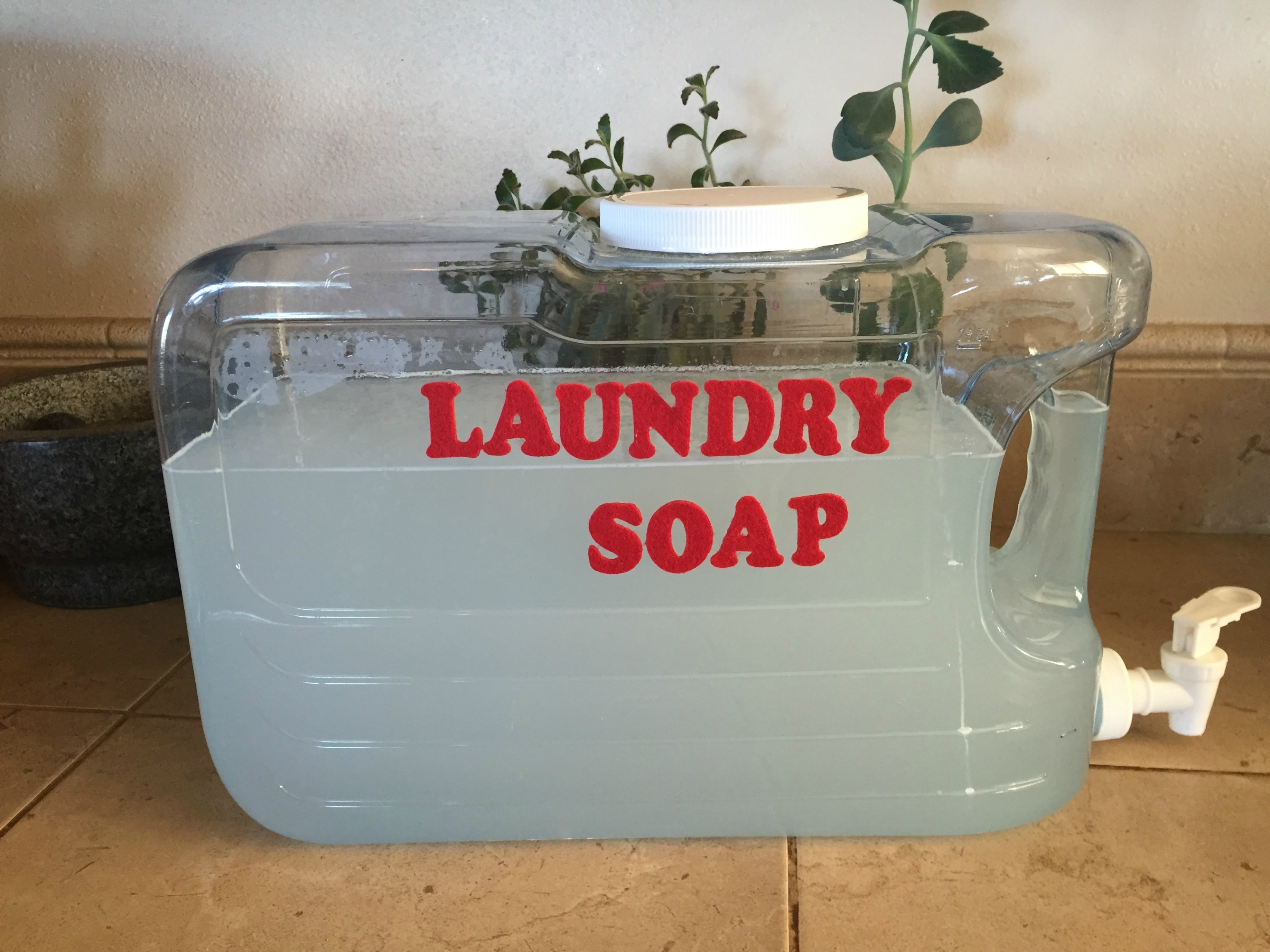 Diy liquid laundry detergent balanced mixed plate diy chemical free laundry detergent solutioingenieria Image collections